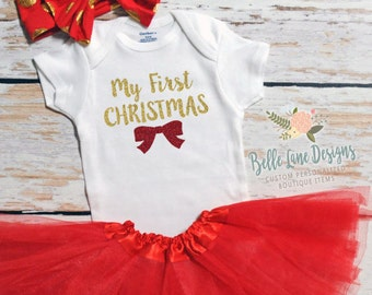 My First Christmas Baby Girl | Baby girl Christmas | First Christmas baby | Baby Girl First Christmas | Girl 1st Christmas |  129