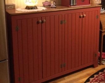 Large Sideboard, Buffet, Rustic Sideboards