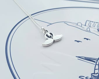 Swan Necklace, Sterling Silver, Silver Swan Necklace, Silver Swan, Swan Charm, Swan Pendant, Alexia Jewellery