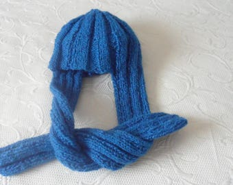 Hat/scarf for boy or girl 2 in 1