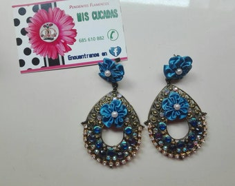 Earrings for flamenco and events
