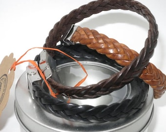 braided leather bracelet, leather bracelet, style, classic