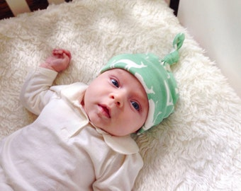 Organic Baby Beanie, Rustic, Elk, Deer, Toddler, Hat, Boys, Girls, Nature, Wildlife, Newborn, Gift