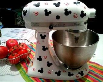 Mouse Set Kitchenaid Mixer Vinyl Decal Sticker Kitchen Decor