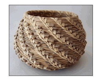 The Complete Pine Needle Basket Kit - makes one 4in. - 6in. Basket (wckcomppineneedle)
