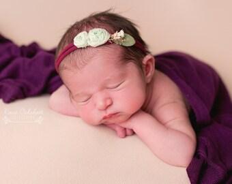 Purple, Newborn Wrap, Newborn Photography Prop, Stretch Wrap, Photography Props, Newborn Photo Props, Photo Prop, photo props, boy props