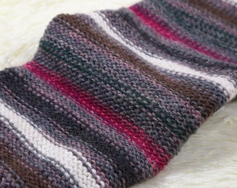 Striped Leg Warmers - Stretchy - Boot Warmers - Knee High