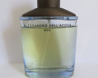 Alessandro Dell'acqua Eau De Toilette for Men 100ml discontinued Used rare