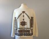 Vintage 70's  knit sw...