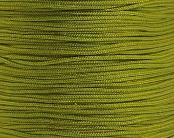 Nylon thread 0,8mm olive green 10m