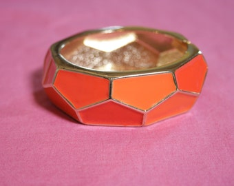 Orange Bangle Costume Jewelry