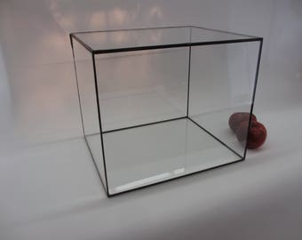 Custom Glass Display Box protects and highlights your special treasures