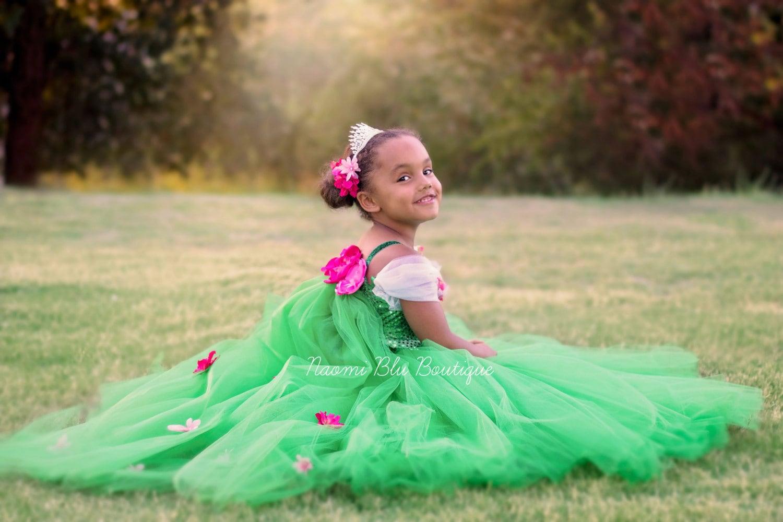 Disney Inspired Frozen Fever Forever Princess Queen Elsa Tutu