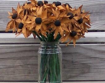 Primitive Grubby Flower Bouquet E Pattern PDF