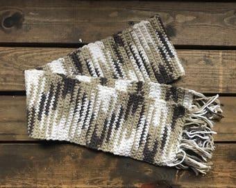 Handmade simple scarf