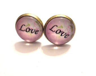 Earrings Love