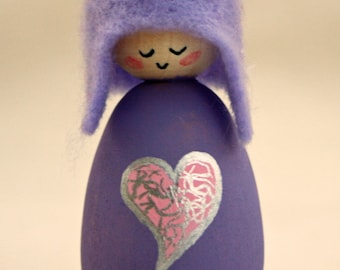 Cornish Pixie Elf  Heart