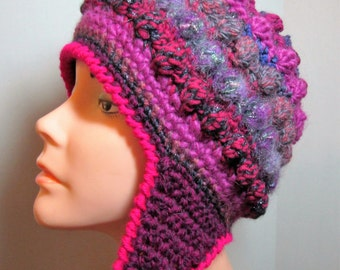 Freeform Freestyle Crochet Helmet Hat