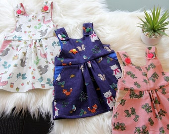 Cord pinafore/Dress