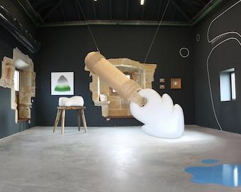 Sculpture «OS harpon».