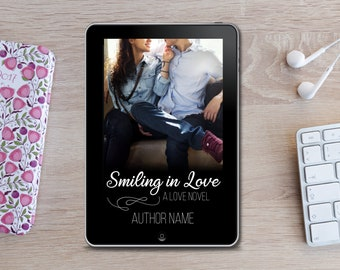 Premade eBook Cover -  Smiling in Love
