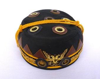 UPCYCLED Vintage FREEMASON CAP