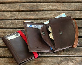 Mens' Wallets, Billfold Leather, Personalized Wallet
