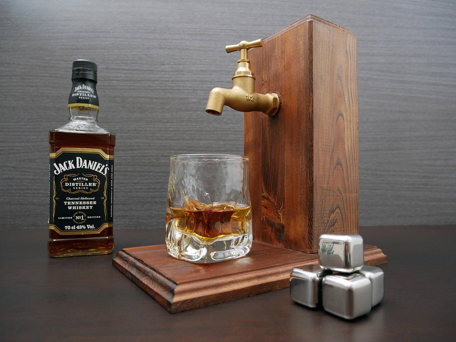 Gift For Men Whiskey Boss Gift Alcohol Dispenser Large # Muebles Para Guardar Whisky