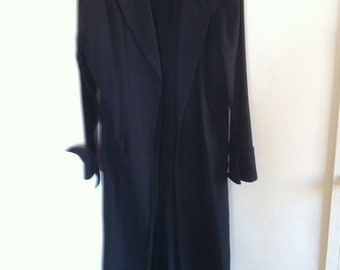 1990s Frederick's of Hollywood Men's Cattle Duster coat