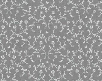 Au maison oilcloth claire dark grey dark grey coated cotton