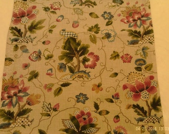 """Floral Throw Pillow Cover - Fits 14"""" x 14"""" Pillow Form"""