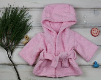 """Waldorf doll Clothes, bathrobe for 15-18"""" dolls Christmas Gifts for Children"""