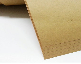 """Postal wrapping paper, Kraft wrapping paper,  30 sheets 24"""" X 18""""(60 cm X 45 cm)"""