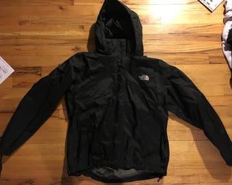 Northface jacket men's large black windbreaker