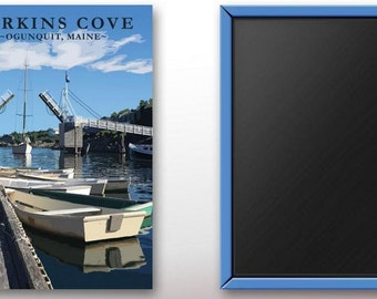 Perkins Cove  Acrylic Magnet