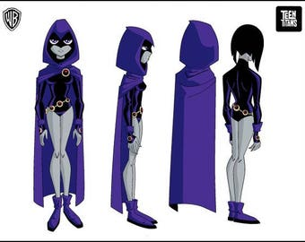 Raven costume  from Teen Titans