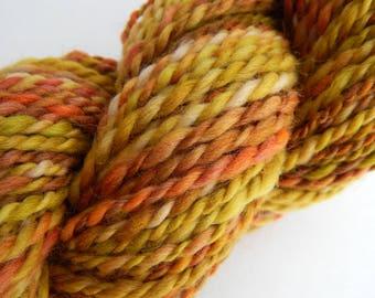 Fields of Gold-Handspun Wool Yarn
