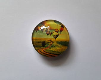 Hot Air Balloons Needle Minder