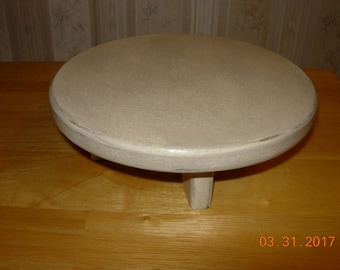 """10"""" Primitive Round Candle/ Table Riser"""