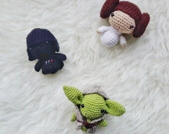 Amigurumi Discount Pattern Package - Amigurumi Star Wars -Crochet Star Wars Pattern