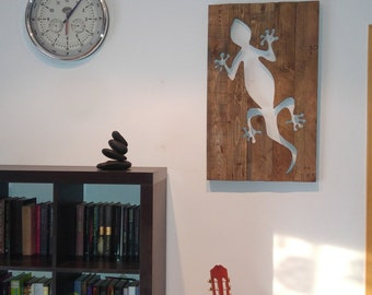 Decorative picture, Salamander