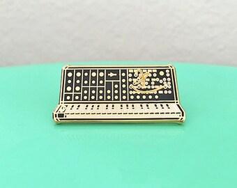 Synth Keyboard Enamel Pin - 5th Edition