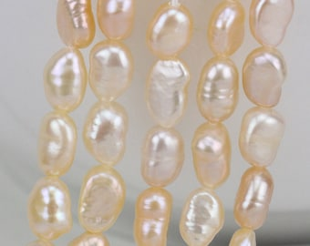 alibaba special wholesale pearl suppliers showroom irregular freshwater shape shaped pearls hole no