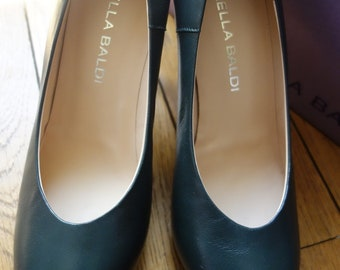 LELLA BALDI leather pumps, size EU38