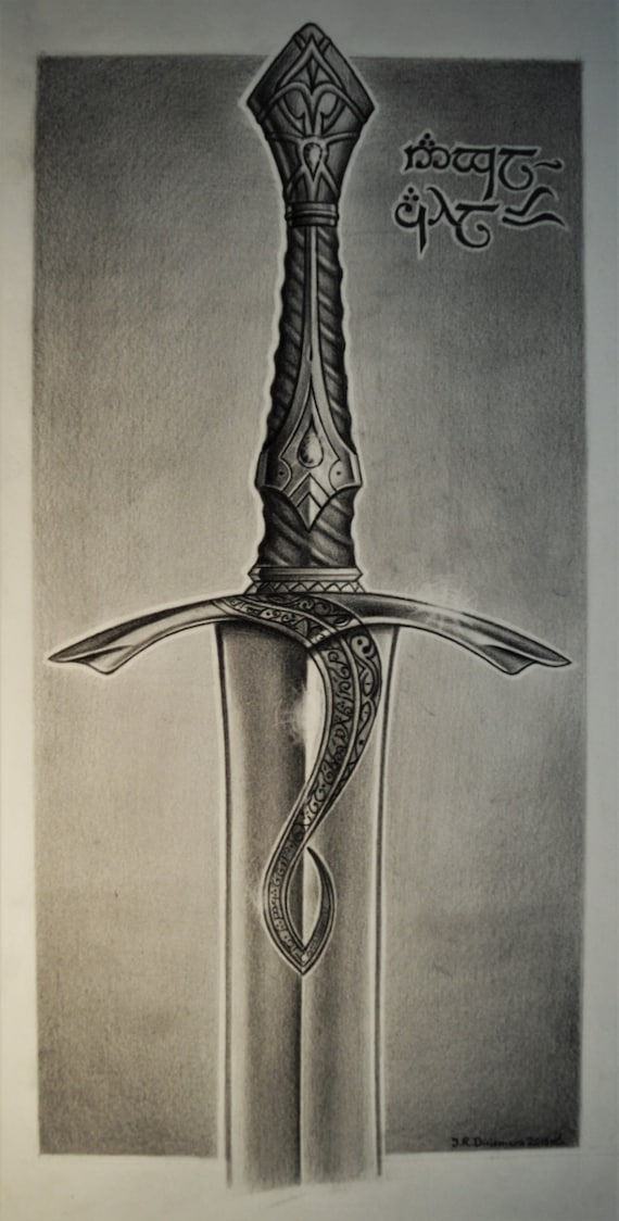 how to make sword with paper drawing small