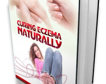 Curing Eczema Naturally! E-Book! Fast & Free Shipping!