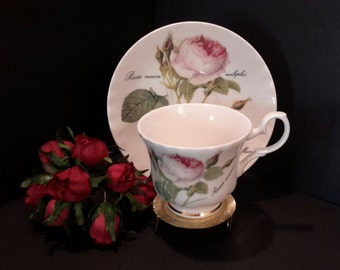 Roy Kirkham Teacup Set, Tea Cup and Saucer Set, Vintage Roy Kirkham Teacup Set, French Teacup, Gifts Under 25