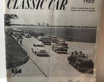 The Classic Car Annual Review 1955 Official Publication of the Classic Car Club of America