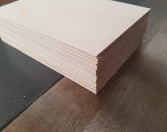 "1/8"" Birch 4x6 (13 Sheets) Baltic Birch Plywood 3mm"
