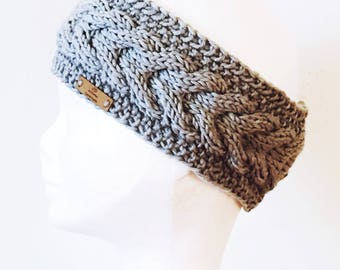 Knit Headband,Ear warmer,cabel knit head band,Knitted Headband,Women's Fall/Winter Fashion Accessory,Stocking Stuffer, Headband